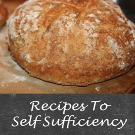 self sufficiency recipe