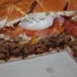 A healthy, inexpensive and delicious black bean burger!
