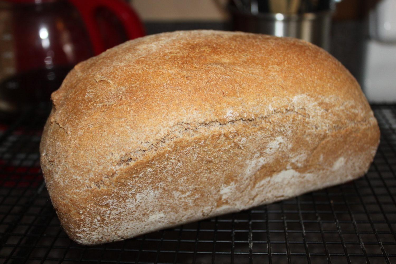 100% Whole Grain Wheat Bread Recipe