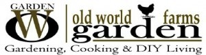 old world garden farms logo and tagline