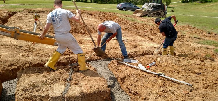 Breaking Ground On Our Version Of A Tiny Home