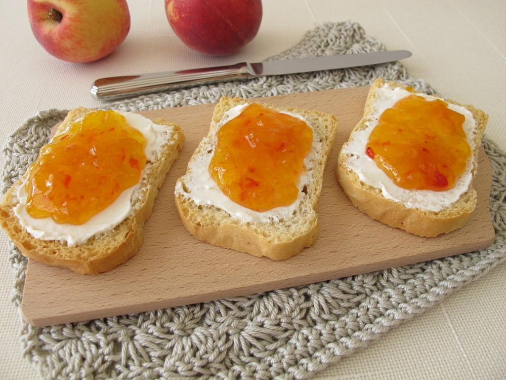 Peach jam recipe summertime goodness made without pectin Jam without boiling easy made flavorful