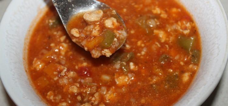 Zesty Pepper Soup Recipe – Enjoy Stuffed Pepper Taste In A Soup!