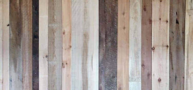 Creating An Accent Wall With Reclaimed Barn Wood And Pallets