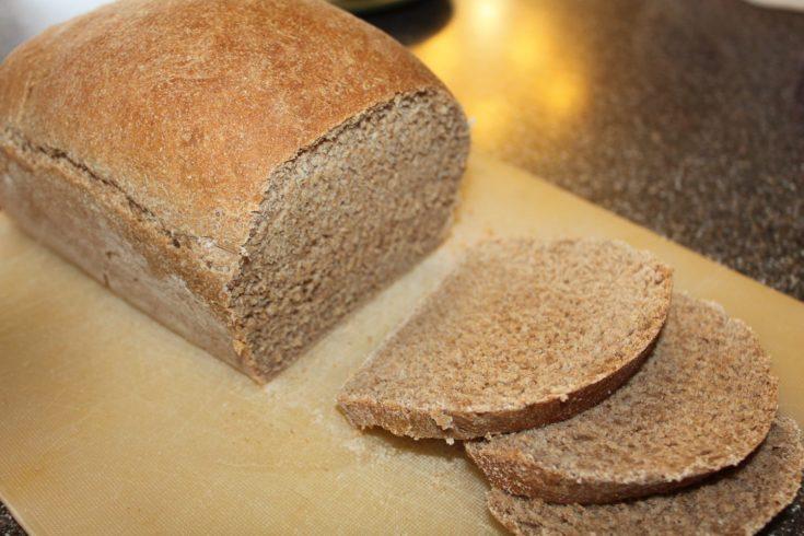 100% Whole Grain Whole Wheat Bread