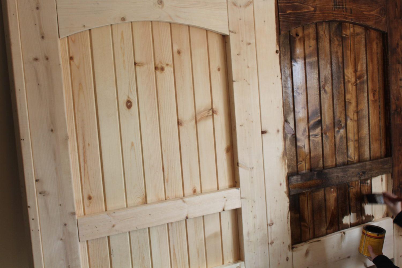 Rustic Door Headboard Assembly View Turn A Regular Great Simple Barn Door Plans Exploded Assembly View Turn A Regular Great Sliding Barn Doors Diy Rustic Door Headboard