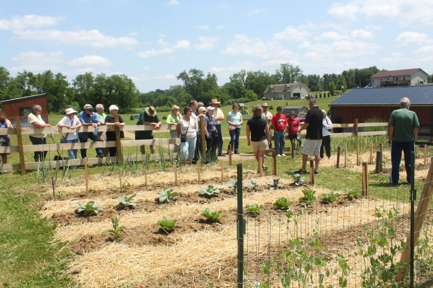 Raised Row Gardening And Canning Classes At The Farm – Come Join Us As Our Guest!