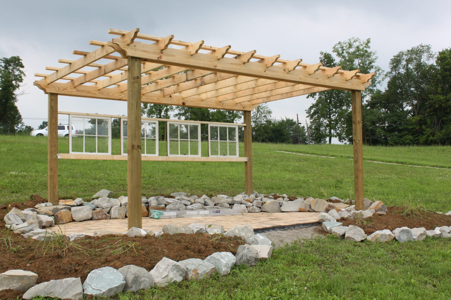 Creating Your Own Outdoor Paradise Building A Pergola To Enjoy