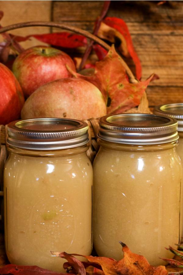 canning applesauce in quart jars