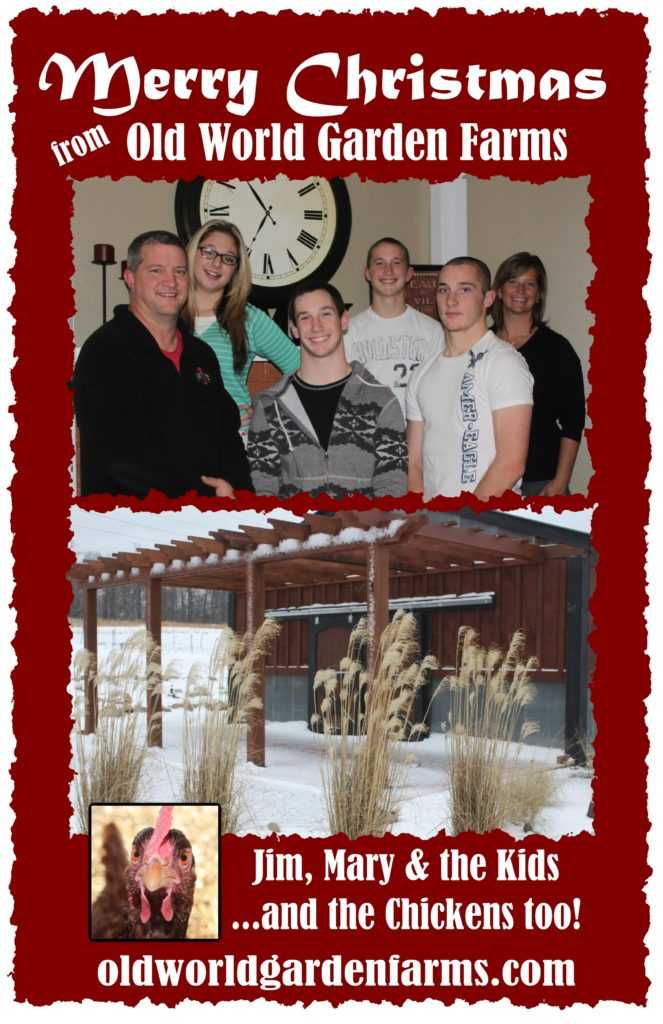 Merry Christmas From Old World Garden Farms!
