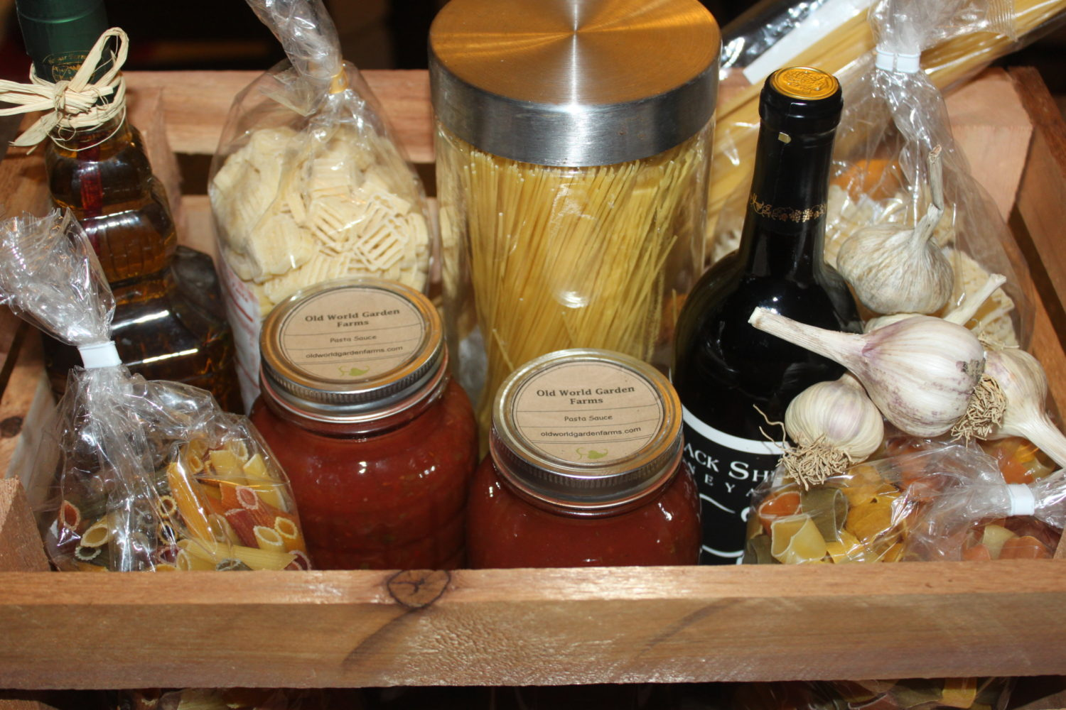 homemade gift basket