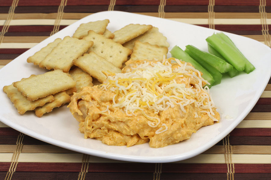 buffalo chicken dip Father's Day Recipes