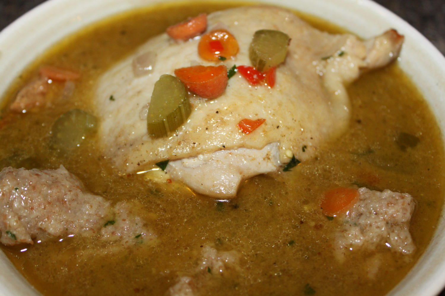 Rustic chicken soup recipe comfort food at its best ccuart Image collections