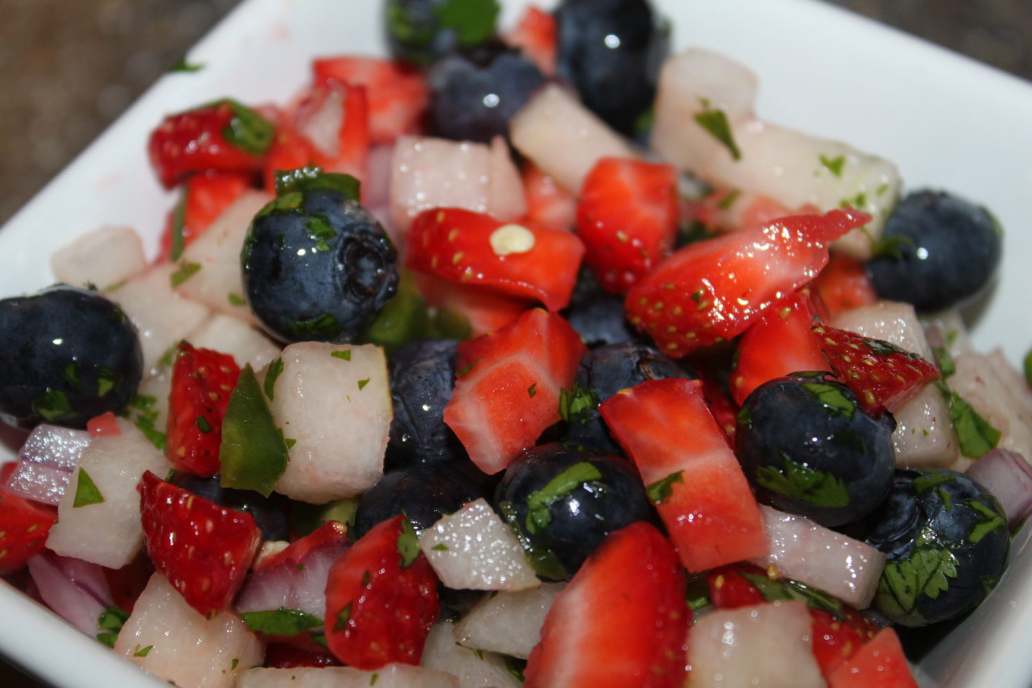 Red, White, And Blue Salsa Recipe – Just In Time For Your Picnic!