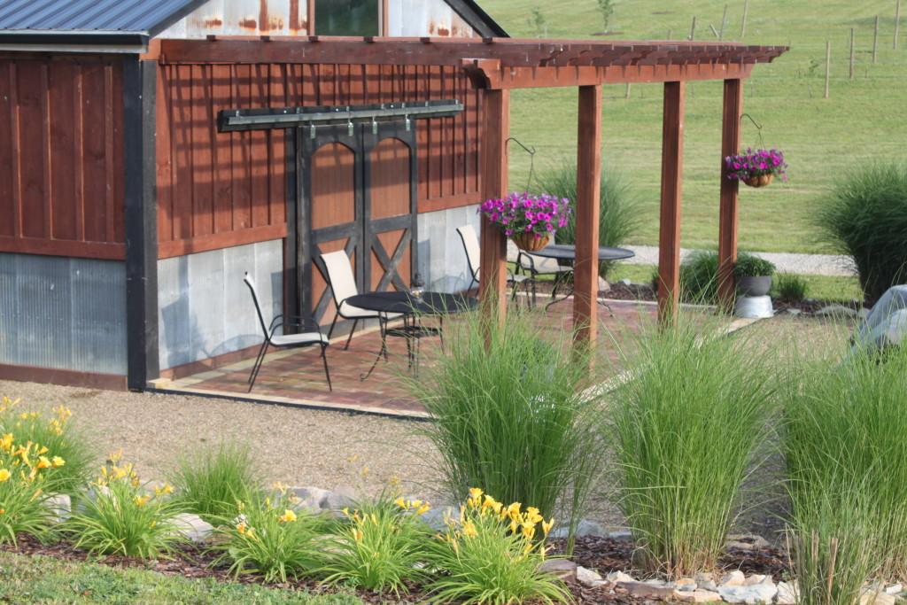 barn landscaping