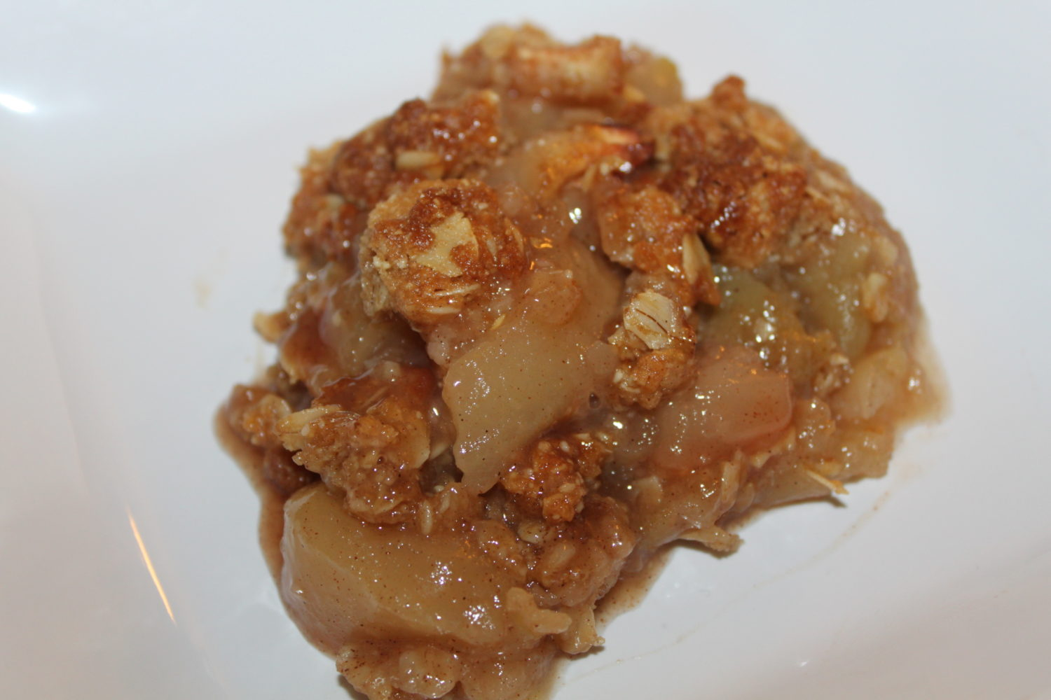 Apple Crisp Recipe – Gluten and Dairy Free
