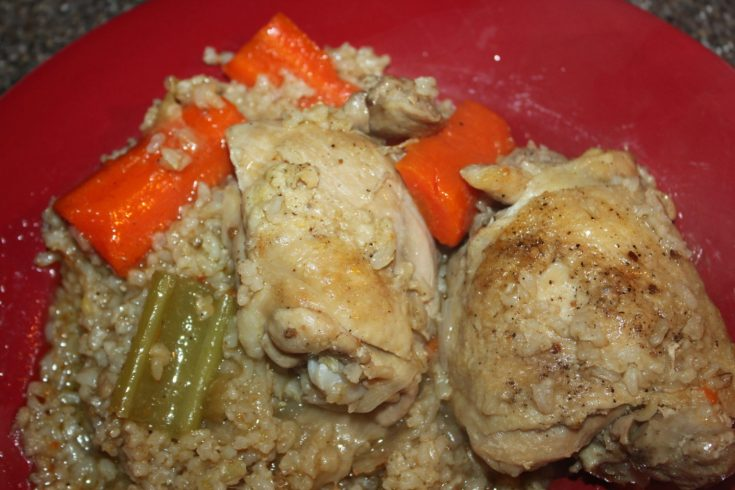 Chicken and Brown Rice Casserole