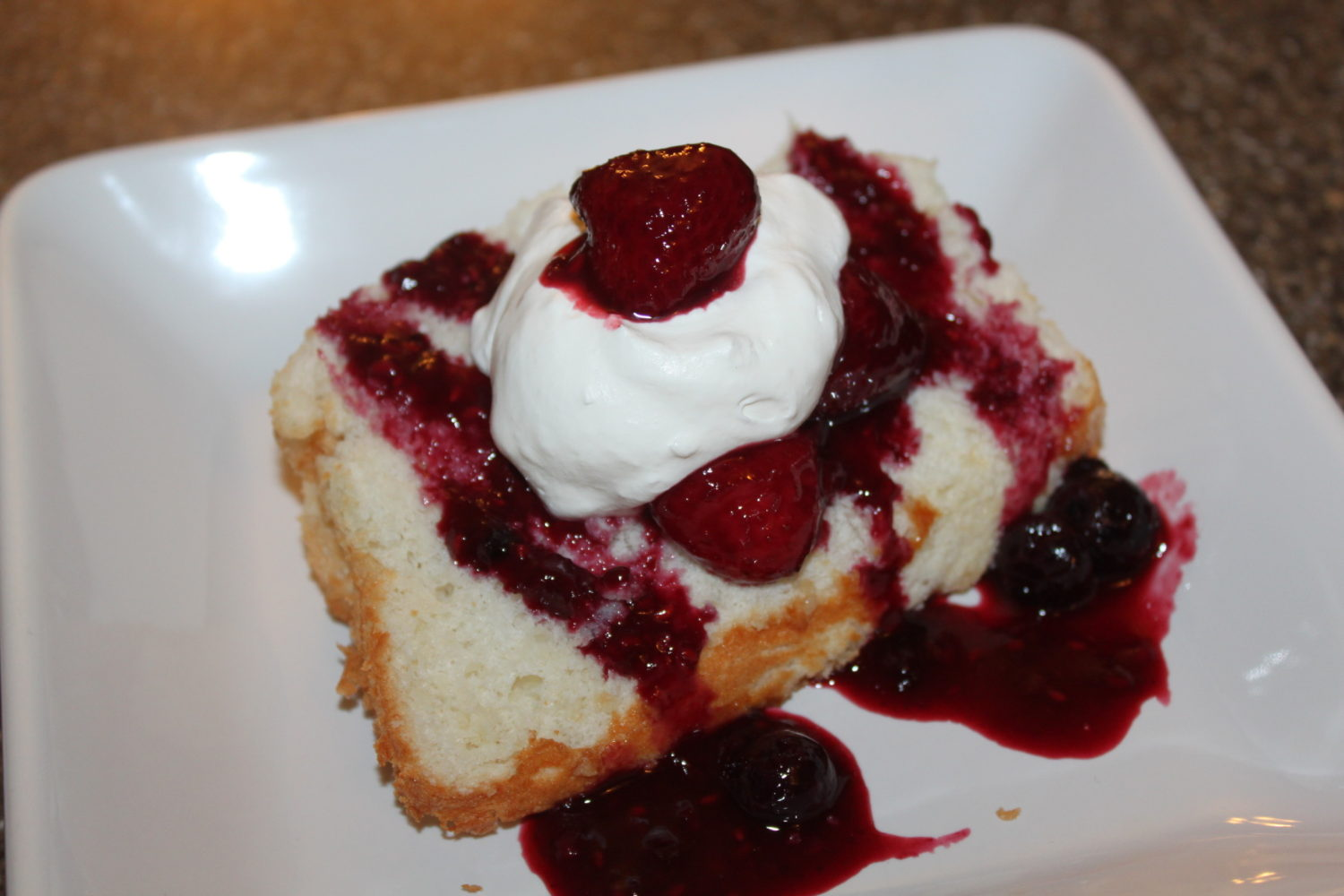 Angel Food Cake Recipe – Sized For A Loaf Pan!