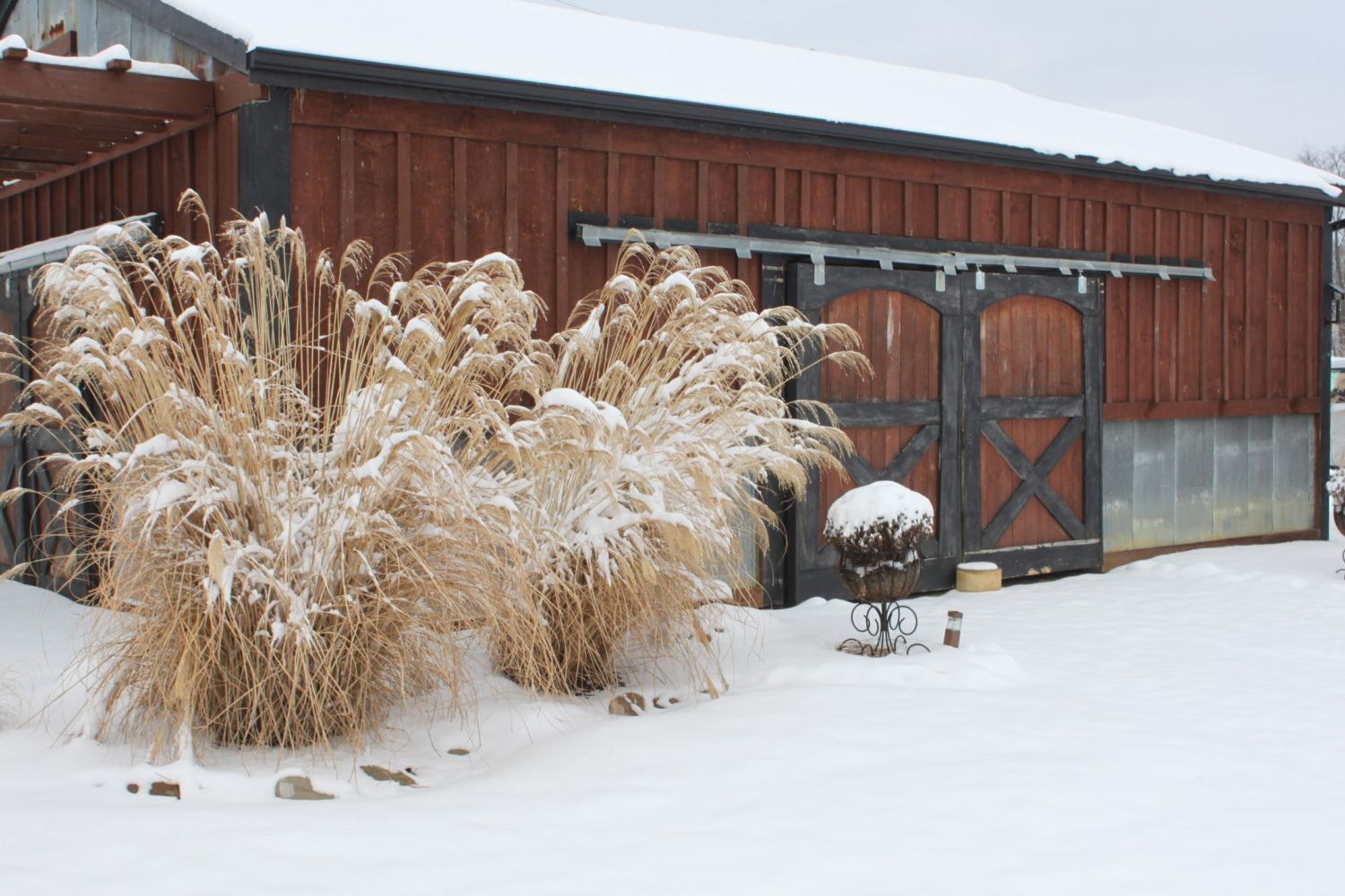Winter Photos From The Farm – And The Snow Falls!