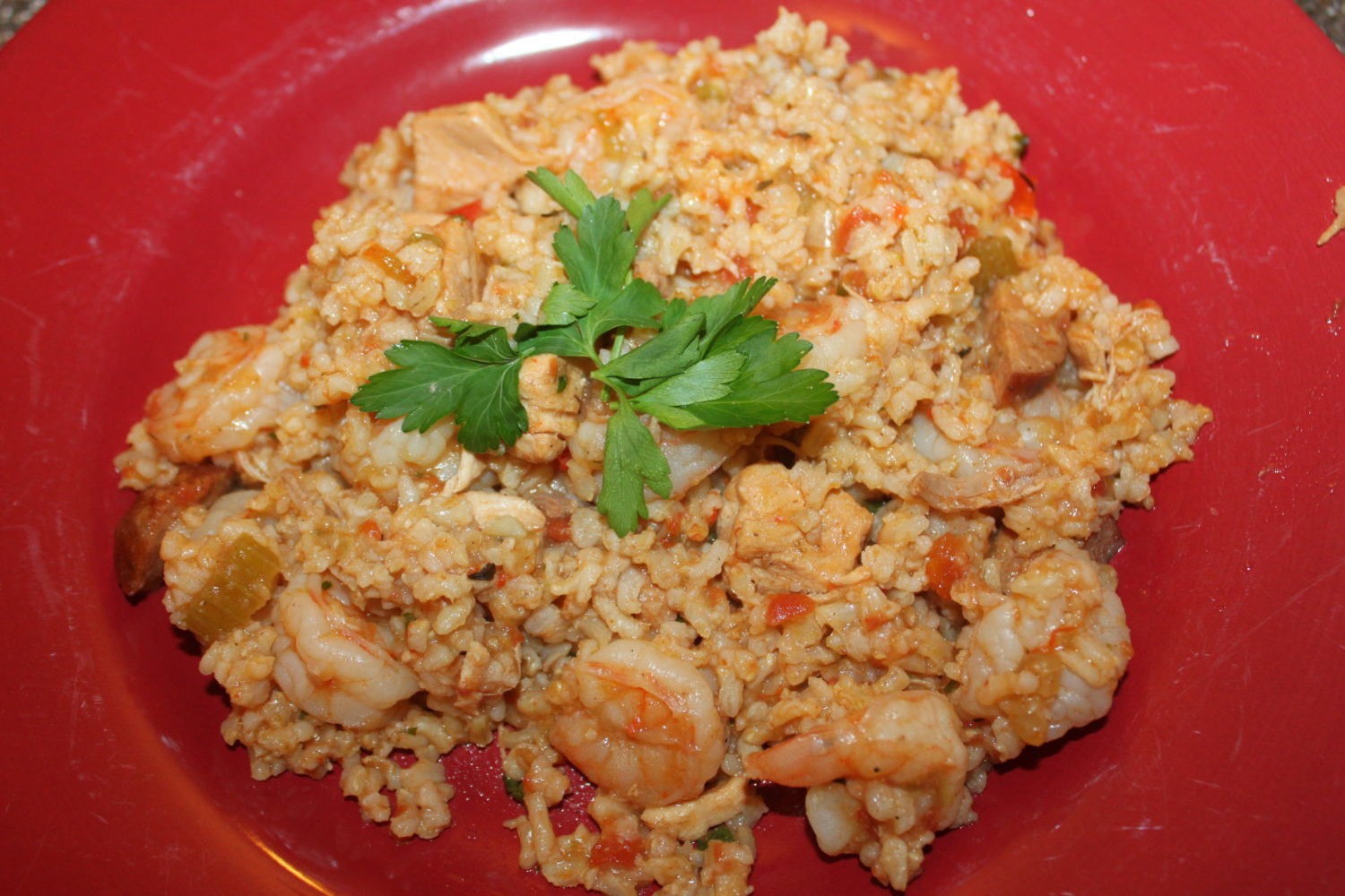 Chicken and Shrimp Jambalaya Recipe – Celebrating Fat Tuesday