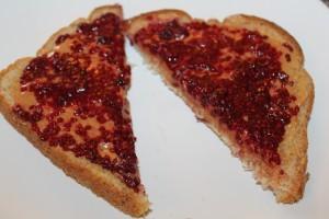 Delicious on a classic pb&j sandwich