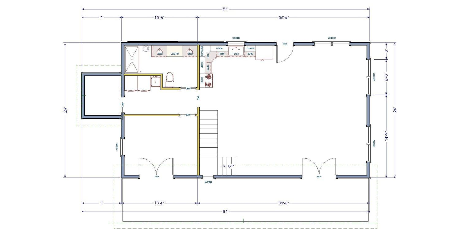 the simple house floor plan making the most of a small