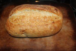 oven roasted garlic artisan bread