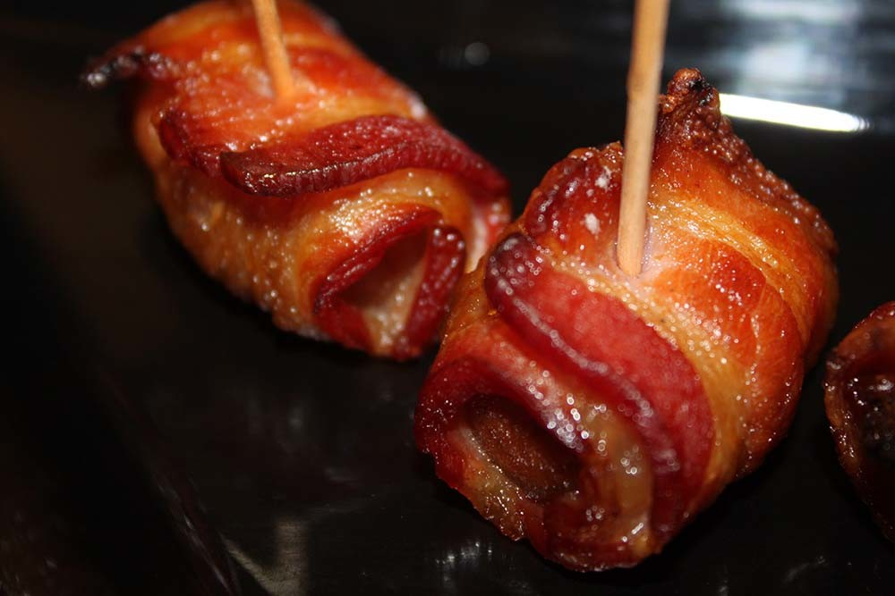 Bacon Wrapped Chestnuts