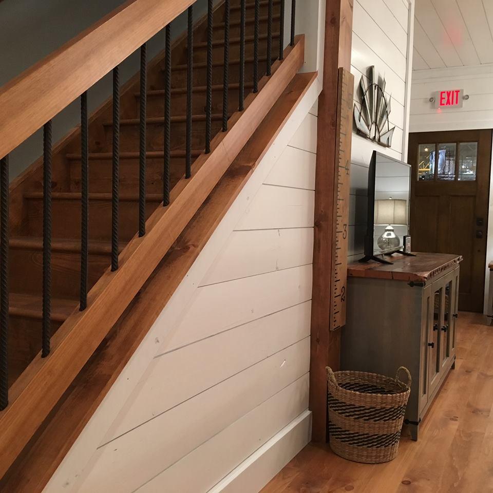 homemade porch railings