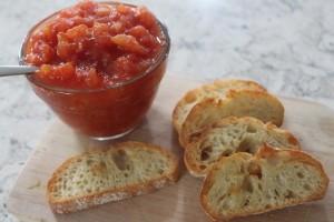 sweet tomato jam