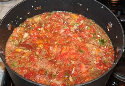 garden pasta sauce