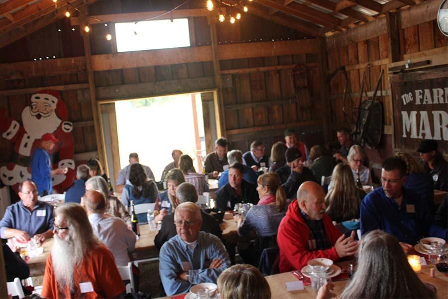 farm to dinner table photos