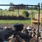 open fire cooking bar