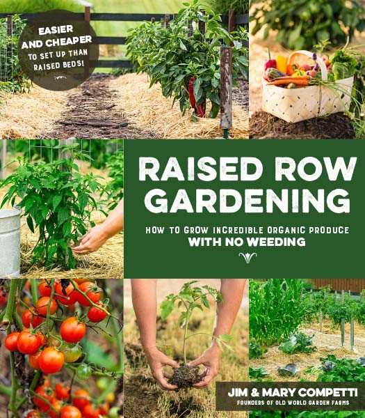 raised row gardening book