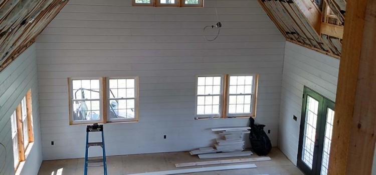 Shiplap vs. drywall