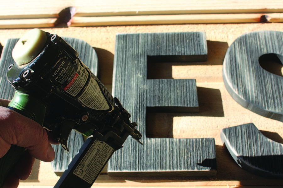 Creating DIY Vintage Wooden Signs From Shiplap - Save Big!