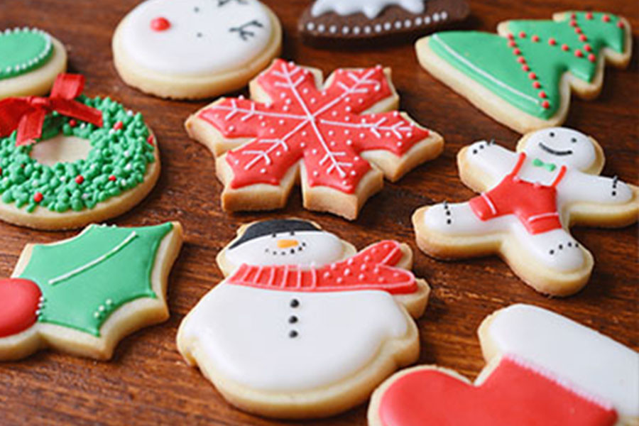 Christmas Cutout Cookies.Easiest Christmas Cutout Cookie Recipe