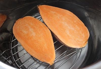 cook sweet potatoes