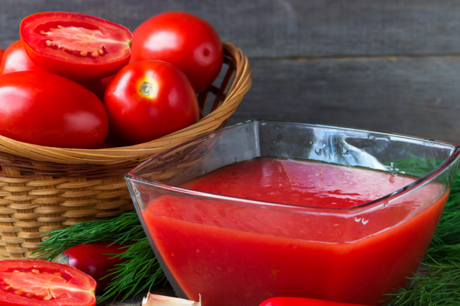 How To Make And Can Tomato Juice What