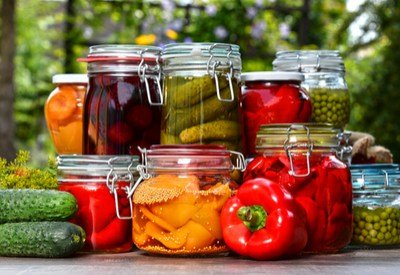 preserving vegetables