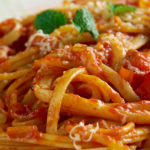 homemade garlic pasta sauce