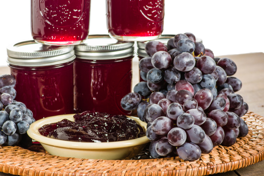 Homemade Grape Jelly Recipe Made With
