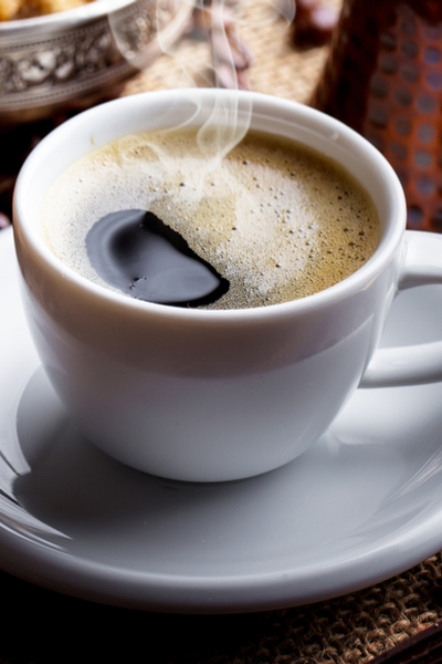 use coffee grounds