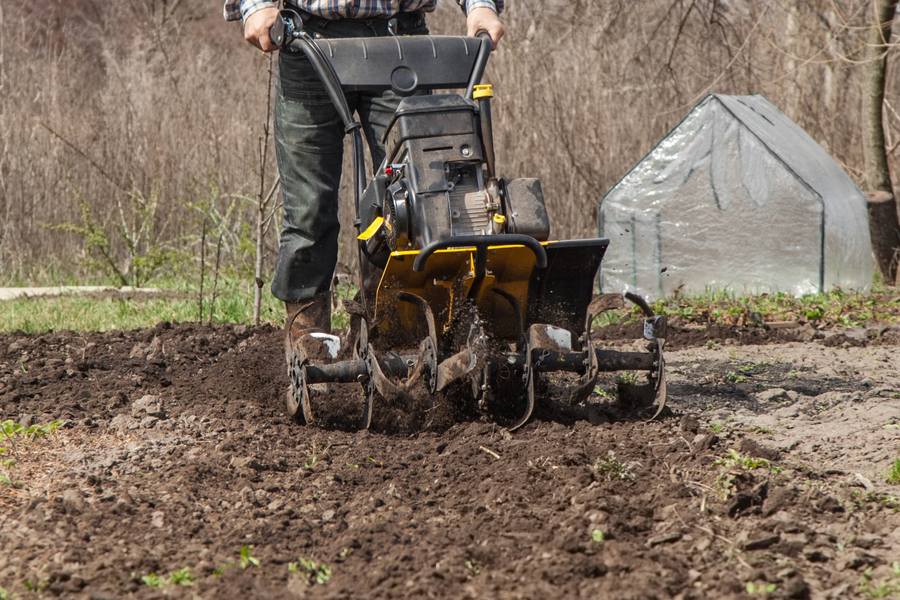 preparing garden beds for planting