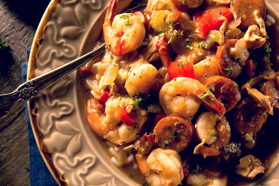 slow cooker shrimp gumbo