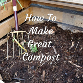 make great compost