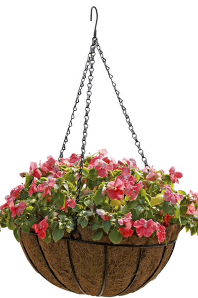 homemade hanging baskets