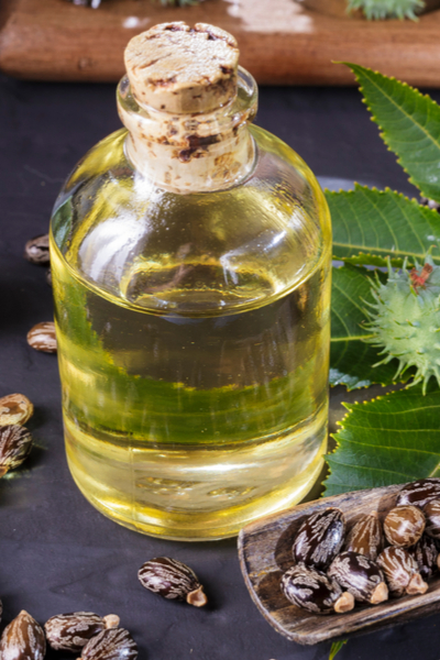 castor oil to repel moles
