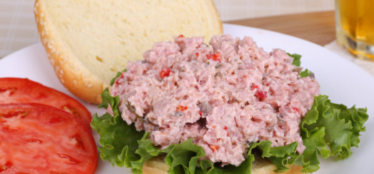 featured ham salad