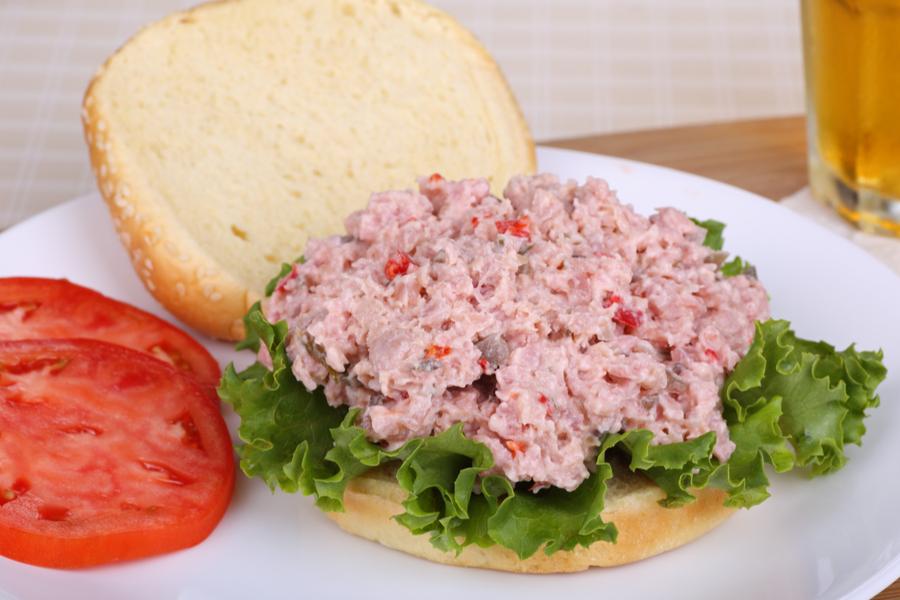 featured ham salad
